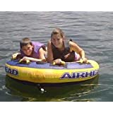 Boat Tubing, Ski Tube with Handles. Inflatable Towable Air Tube. Water Tube for Water... by Airhead