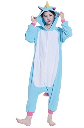 Fandecie Cosplay Animal pigiami Sleepwear Nightclothes Loungewear Unicorn mezzo adatto per 160-175cm Altezza