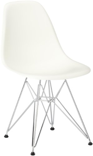Vitra 440022000104 Stuhl Gestell Verchromt, weiß