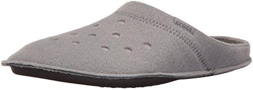 Crocs Classic Slipper Infradito e Ciabatte da Spiaggia, Unisex Adulto, Grigio,  37/38