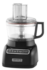 New Kitchenaid Kfp0711Ob 7 Cup Food Processor Kfp0711 Beautiful Black One Day Shipping Good Gift Fast Shipping front-439817