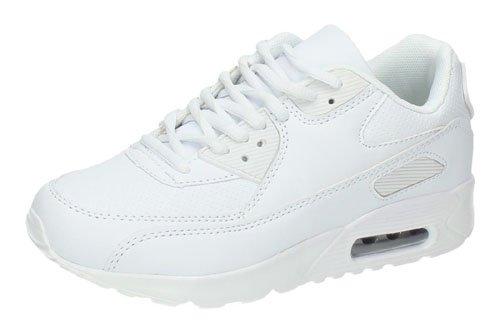 Zapatillas blancas DEMAX DEPORTIVOS talla 37 BLANCO POLIPIEL