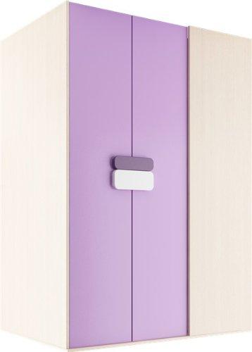 Begehbarer Kleiderschrank Gusto 130 cm walkin closet Wardrobe Kleiderschrank Kinderschrank Gusto G00Links inder Farbe Eiche Creme / Violett in der Farbe kaufen