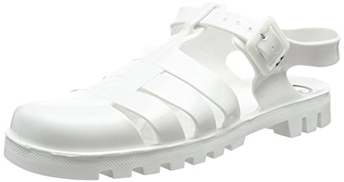 JuJu ShoesMAXI - Sandali donna , Bianco (Bianco (White)), 41