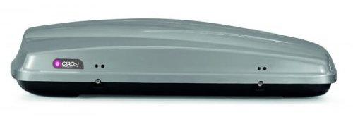 MAC Dachbox Ciao 430 Autobox silber glänzend