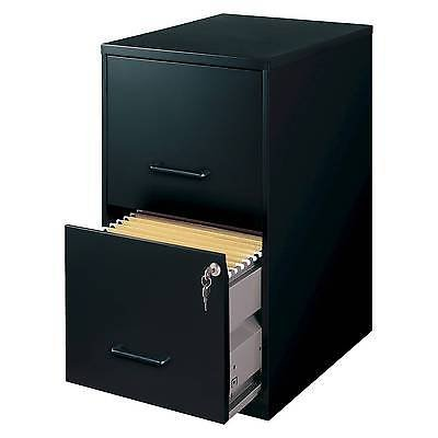 HIRSH Black Vertical 2-Drawer Filing Cabinet Metal (Miniature Filing Cabinet compare prices)