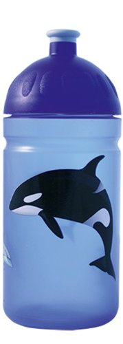 ISYbe-Die-schadstofffreie-auslaufsichere-Trinkflasche-ohne-Weichmacher-Blautransparent-Orca-05-Liter