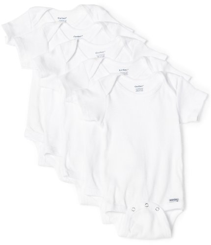 Gerber 5-Pack Onesies Brand One Piece Underwear