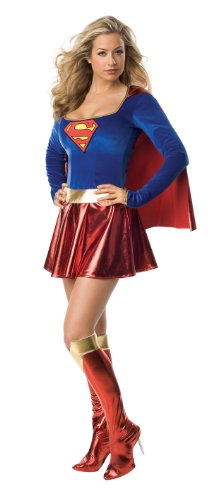 Supergirl Sexy Costume One Piece Adult Costume 888239