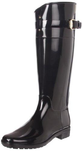 Lauren Ralph Lauren Women's Rossalyn II PVC Rain Boot,Black,8 B US