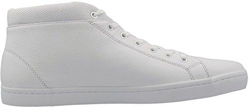 Lacoste Uomo Bianco Straightset Chukka SPM Sneakers-UK 8