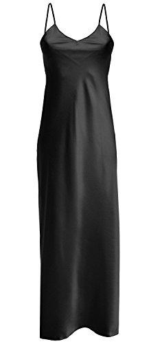 dkaren-luxurious-satin-long-nightdress-lingerie-large-12-uk-black