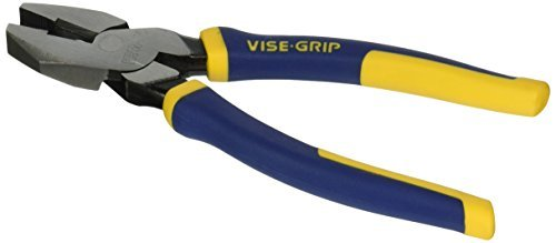 IRWIN VISE-GRIP North American Lineman's Pliers, 9-1/2, 2078209 by Irwin Tools