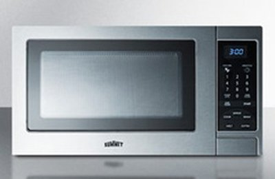 Summit Refrigeration SCM853 Microwave Oven - Rotary Turntable, Digital Controls, Stainless Steel, 115V, Each (Summit Microwave compare prices)