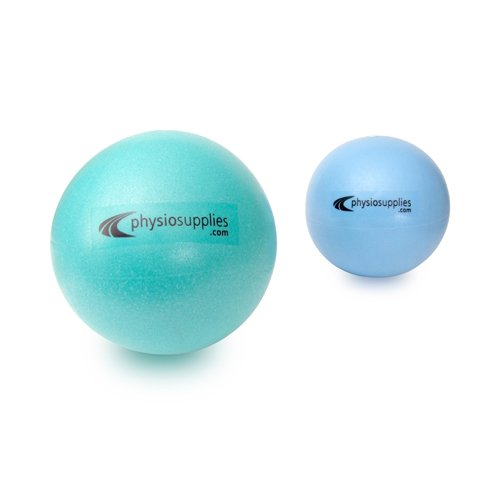 66FIT Pilates Balls Set of 2 - Turquoise/Blue, Size 20 & 25