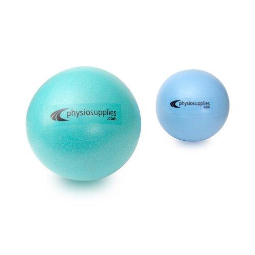 66FIT Pilates Balls Set of 2 - Turquoise/Blue, Size 20 & 25