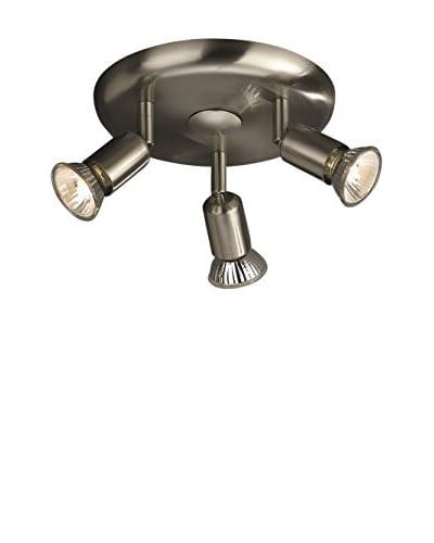 Massive plafondlamp Basic grijs