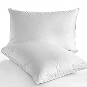 Linens Limited **Special Offer** Goose Feather And Down Pillows, Pair