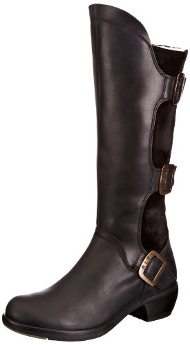 Fly London Womens Mynd Warm Boots P142909002 Black 4 UK, 37 EU