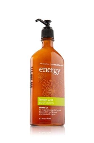 バス &ワークス アロマセラピー エナジー レモンゼストローション Aromatherapy Energy Lemon Zest Body Lotion