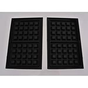2 platten f r waffeln waffeleisen tefal sw370536 a. Black Bedroom Furniture Sets. Home Design Ideas