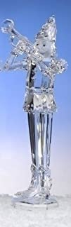 17.5 Clear Icy Crystal Trumpeting Christmas Nutcracker