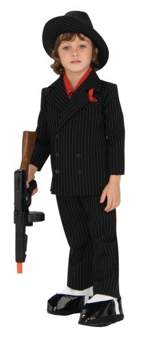 Lil' Gangster Costume, Small front-1075816