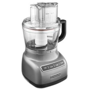 KitchenAid KFP0922CU 9 Cup Food Processor - Contour Silver