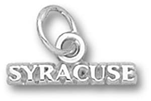 Syracuse Orangemen Syracuse Charm - Sterling Silver Jewelry by Logo Art