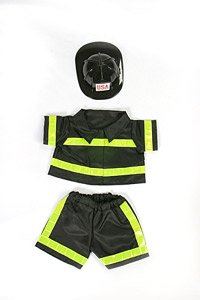 Fireman Outfit Teddy Bear Clothes Fit 14