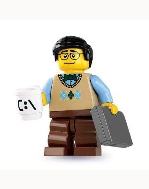 Lego Minifigures Series 7 - Computer Programmer