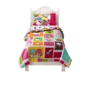 Sanrio Hello Kitty Friends Twin Sheet Set front-331804