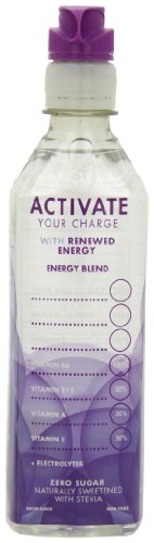ACTIVATE Charged, Grape, 16.9-Ounce Bottles (Pack of 12) by Activate