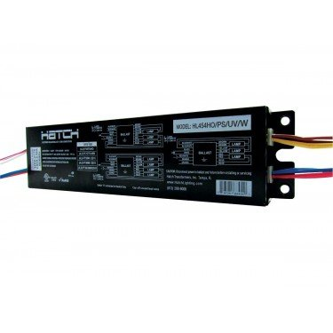 """Hl454Ho/Ps/Uv/W Hatch Lighting F54T5 High Output Electronic Ballast - Universal Voltage 9"""" Case"""