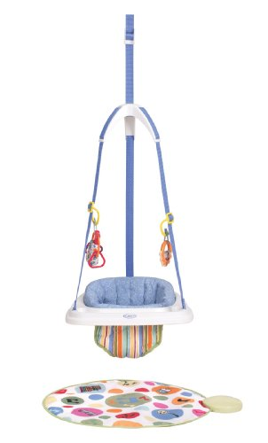 Graco Jump N Jive Doorway Jumper with Interactive Musical Mat