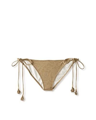 Eberjey Women's Natural Beauty Kate String Bikini Bottom
