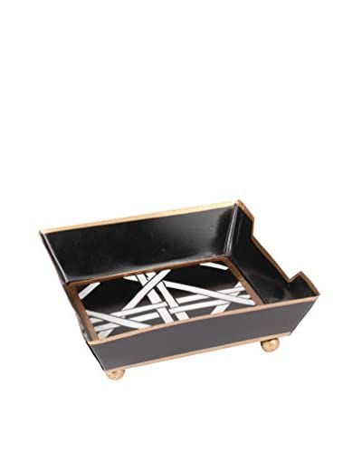 Jayes Cane Bath Tray, Black