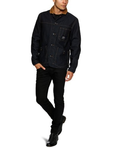 Duck And Cover Jenkins Men's Jacket Indigo Small