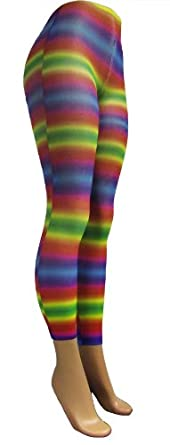 Rainbow Neon Leggings