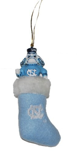 NCAA North Carolina UNC Tarheels Stocking Ornament at Amazon.com