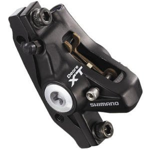 Buy Low Price Shimano Deore XT Post Mount Hydraulic Disc Brake Set (IM7752MFPMA100)