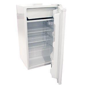 Haier HSA04WNCWW Compact 3-8/9-Cu-Ft Refrigerator/Freezer, White