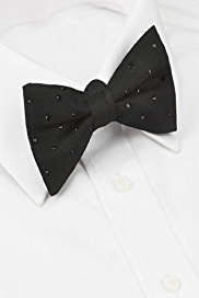 Autograph Silk Bow Tie with SWAROVSKI® ELEMENTS