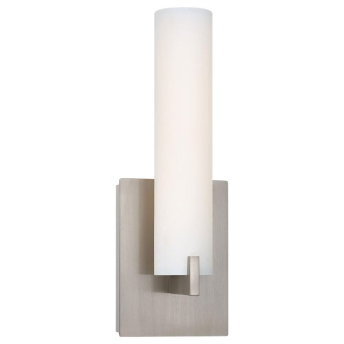 Kovacs P5040-084-L 1 Light Ada Compliant Led Wall Sconce In Brushed Nickel From, Brushed Nickel