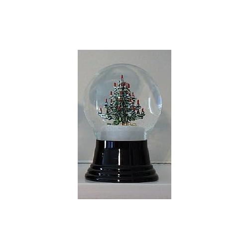 Decorated Christmas Tree Snow Globe