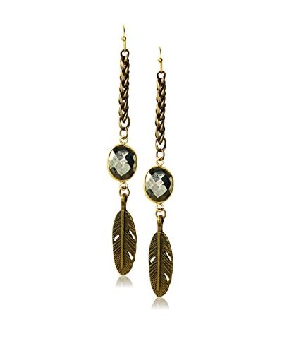 Heather Kahn Pyrite Canyon Earrings