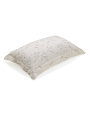 Pure Linen Floral Pillowcase