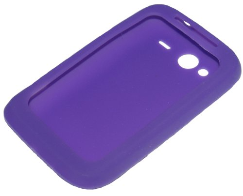 Soft Case Custodia Silicone per HTC WILDFIRE S viola di RBrothersTechnologie