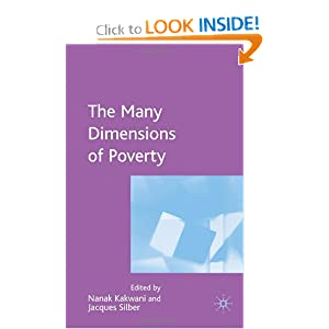 Many Dimensions of Poverty Nanak Kakwani and Jacques Silber