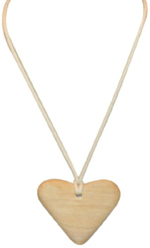 Barin Toys Alder Teething Pendant, Heart front-243645